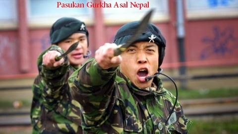 Kehebatan Pasukan Gurkha Asal Nepal